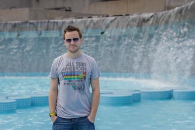 Park wodny - widok na Andrzeja