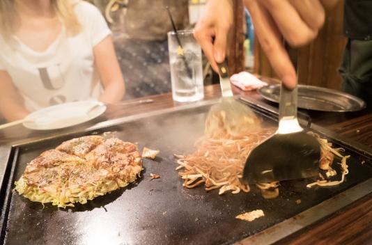 Okonomiyaki w Sometaro